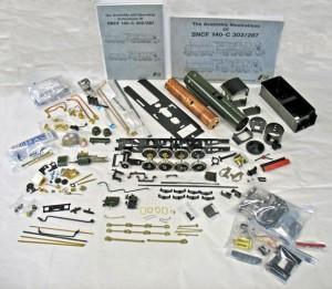 Delvist bygget Aster PLM 140C Kit